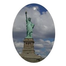 Statue Of Liberty Oval Ornament