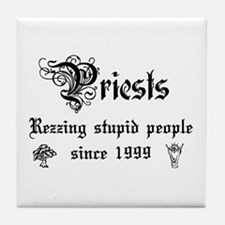 Priests Tile Coaster