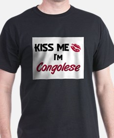 Kiss me I'm Congolese T-Shirt