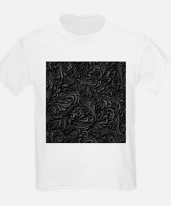 Black Flourish T-Shirt