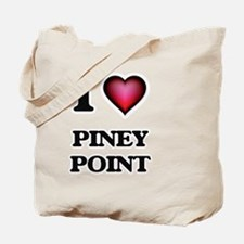 I love Piney Point Massachusetts Tote Bag