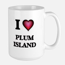I love Plum Island Massachusetts Mugs