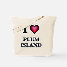 I love Plum Island Massachusetts Tote Bag