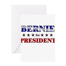BERNIE for president Greeting Card