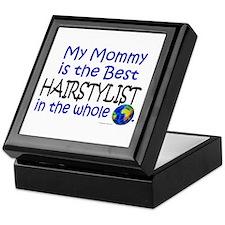 Best Hairstylist In The World (Mommy) Keepsake Box