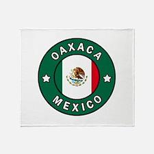 Oaxaca Mexico Throw Blanket