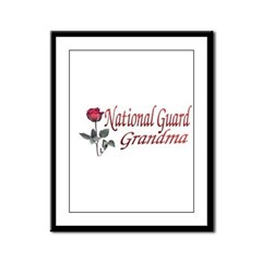 national guard grandma Framed Panel Print