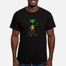 Funny Frog Golfer T-Shirt