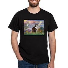 Cloud Angel / Calico Cat T-Shirt