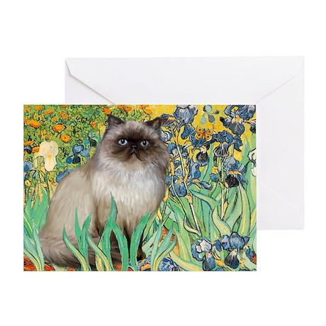Irises / Himalayan Greeting Card