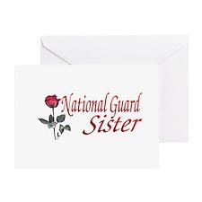national guard sister Greeting Card