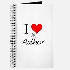 I Love My Author Journal