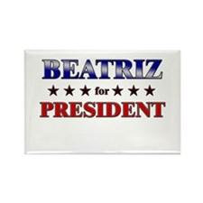 BEATRIZ for president Rectangle Magnet
