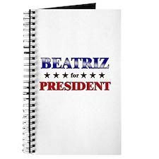 BEATRIZ for president Journal