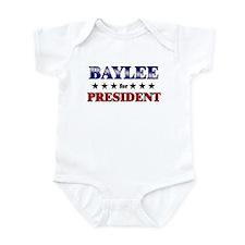 BAYLEE for president Infant Bodysuit