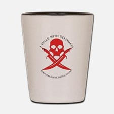 Deadman's Cross Shot Glass