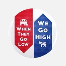 """Low High 3.5"""" Button (100 pack)"""