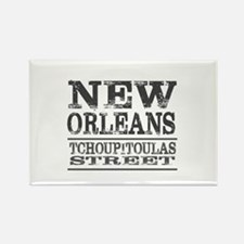 New Orleans Tchoupitoulas Street Magnets