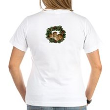 eGerbil Women's Christmas V-Neck T-Shirt