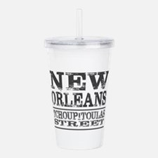New Orleans Tchoupitou Acrylic Double-wall Tumbler