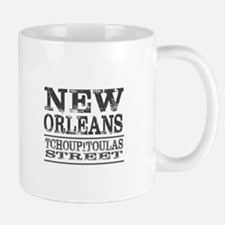 New Orleans Tchoupitoulas Street Mugs