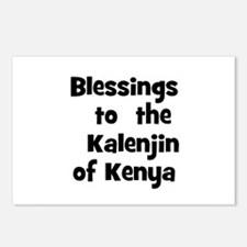 Blessings  to  the  Kalenjin  Postcards (Package o
