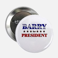 """BARRY for president 2.25"""" Button"""