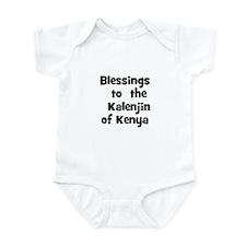 Blessings  to  the  Kalenjin  Infant Bodysuit