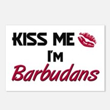 Kiss me I'm Barbudans Postcards (Package of 8)