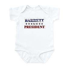 BARRETT for president Infant Bodysuit
