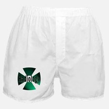Radiology in Green Boxer Shorts