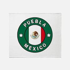 Puebla Mexico Throw Blanket
