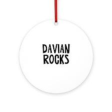 Davian Rocks Ornament (Round)