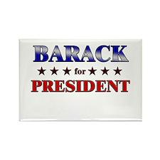 BARACK for president Rectangle Magnet