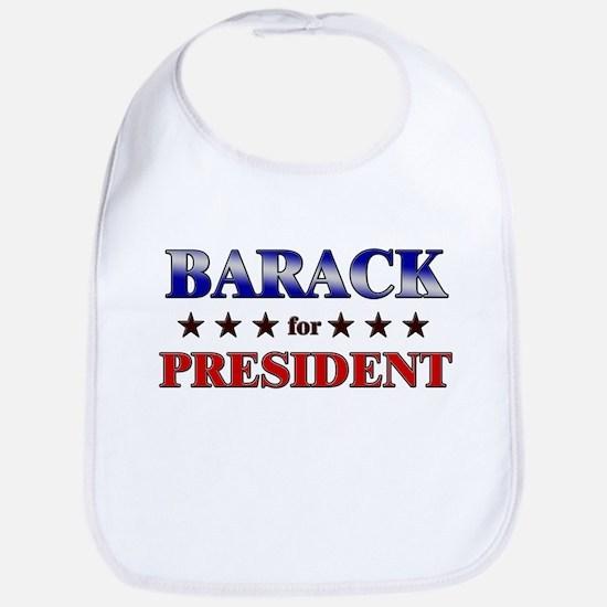 BARACK for president Bib