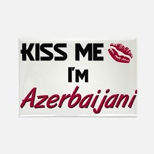 Kiss me I'm Azerbaijani Rectangle Magnet