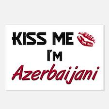 Kiss me I'm Azerbaijani Postcards (Package of 8)