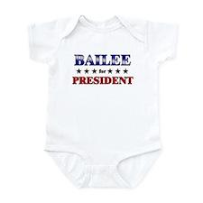 BAILEE for president Onesie