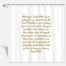Breadcrumbs of Evolutionary Truth Shower Curtain