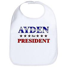 AYDEN for president Bib