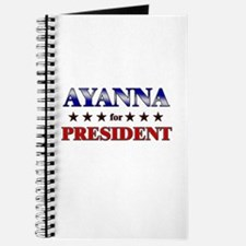 AYANNA for president Journal