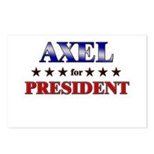 AXEL for president Postcards (Package of 8)