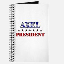 AXEL for president Journal