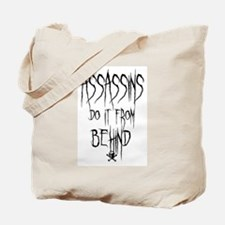 Assassins Tote Bag