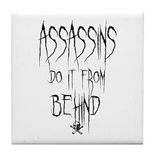 Assassins Tile Coaster