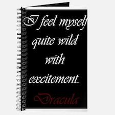 Wild With Excitement Journal