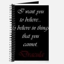 Believe In Things That You Cannot Journal