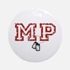mp christmas Ornament (Round)