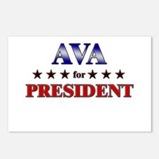AVA for president Postcards (Package of 8)