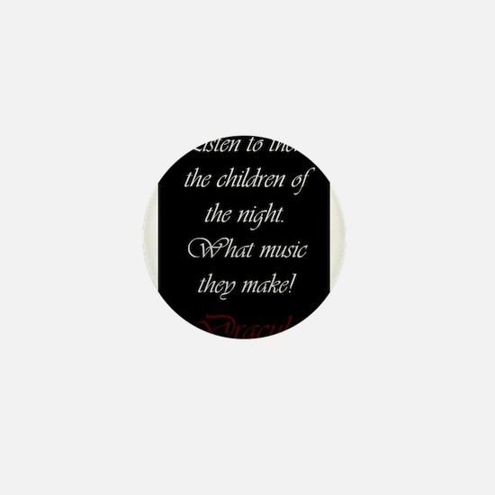 The Children of the Night Mini Button